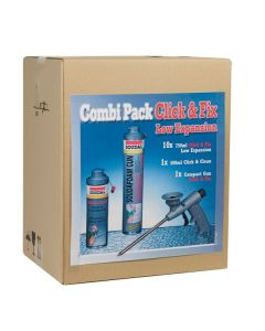 Soudal Soudafoam Combibox Low Expansion Click & Fix
