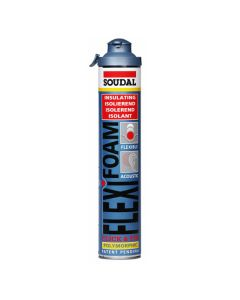 Soudal Flexifoam Click & Fix 750 ml