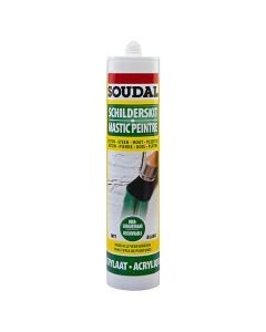 Soudal Schilderskit acrylaat wit 310ml