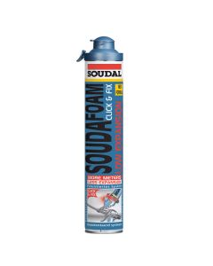 Soudal Soudafoam Low Expansion Click & Fix 750ml