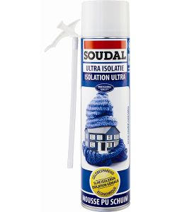 Soudal Ultra Isolatieschuim 600ml